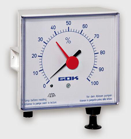 Messung mittels Luftdruck